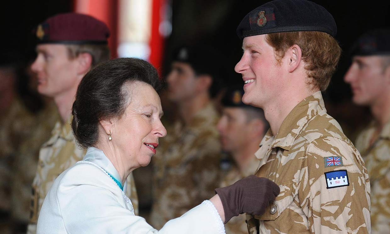 La princesa Ana hará historia gracias a su sobrino, el príncipe Harry