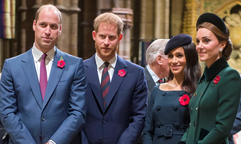 Esta es la siguiente ocasión en la que veremos juntos a los duques de Cambridge y a los de Sussex