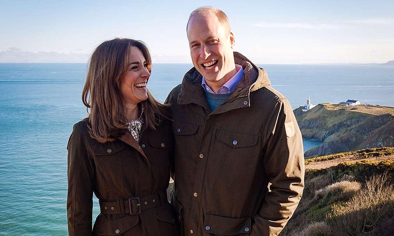 Los duques de Cambridge agradecen el cariño de los irlandeses con una foto inédita
