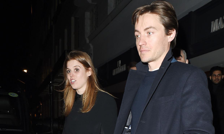 Beatriz de York y Edoardo Mapelli, cena romántica con guiño a la reina Isabel en la cuenta atrás para su boda