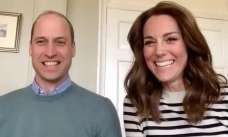 Cómo entretienen a sus hijos, la preocupación por su familia... Los duques de Cambridge se sinceran en la cuarentena