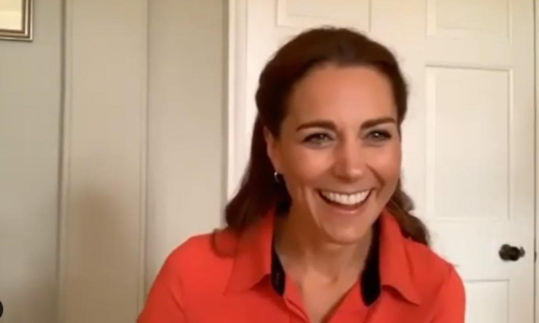 La sorpresa que recibió la duquesa de Cambridge en su última videollamada