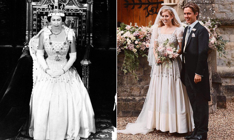 El vestido de Beatriz de York: uno de los tesoros que esconde el armario de la Reina
