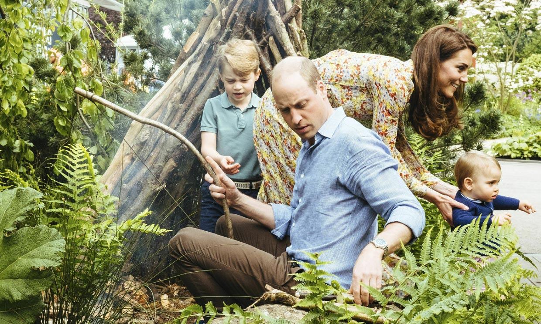Tras los pasos de Diana, las minivacaciones de cuento de los Cambridge con sus hijos
