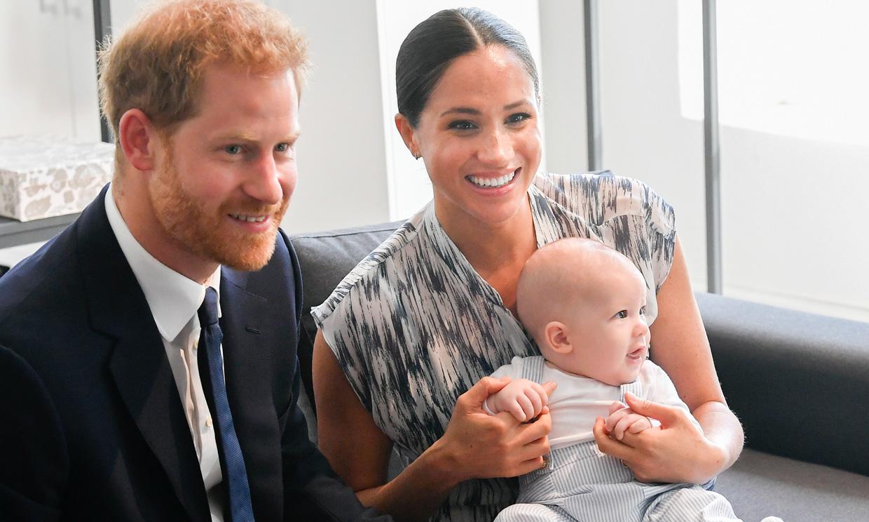 Lo que Archie está aprendiendo del príncipe Harry, según Meghan Markle