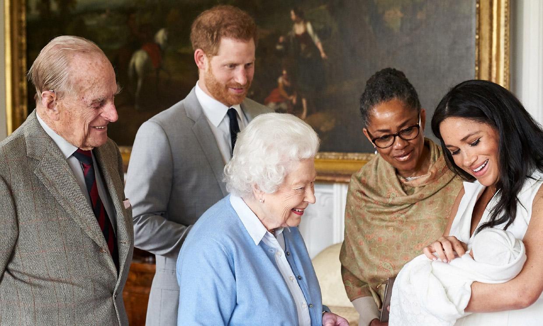 Archie ya es 'un hombrecito', según el príncipe Harry
