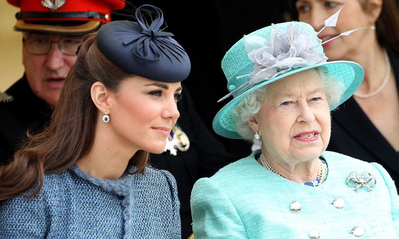 La Duquesa de Cambridge cautiva a Isabel de Inglaterra con su proyecto más personal
