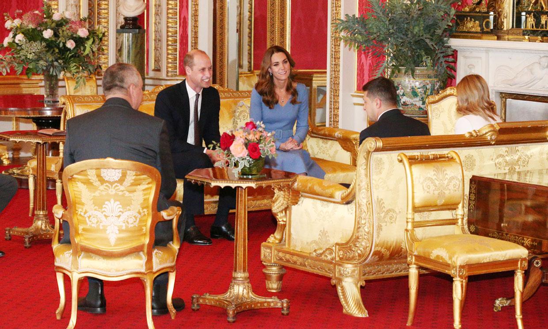 Los Cambridge abren el Palacio de Buckingham a una nueva era