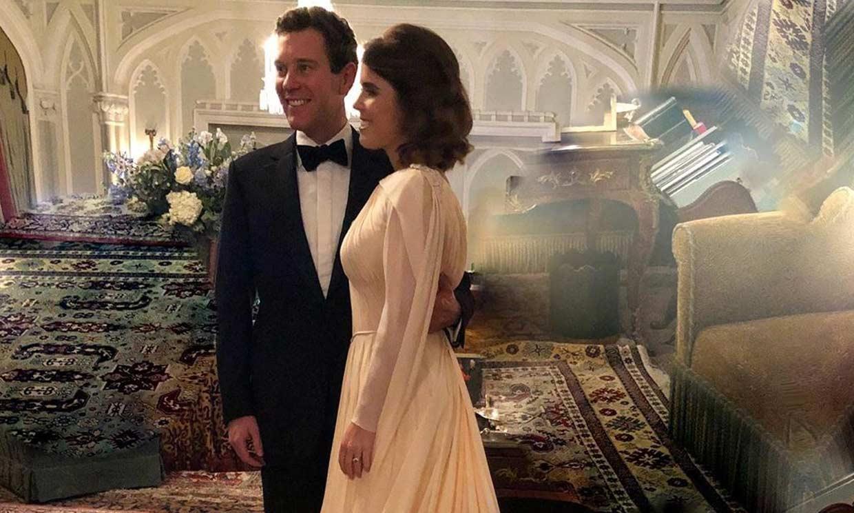 ¡Aún hay más! La nueva foto inédita de la fiesta de boda de Eugenia de York