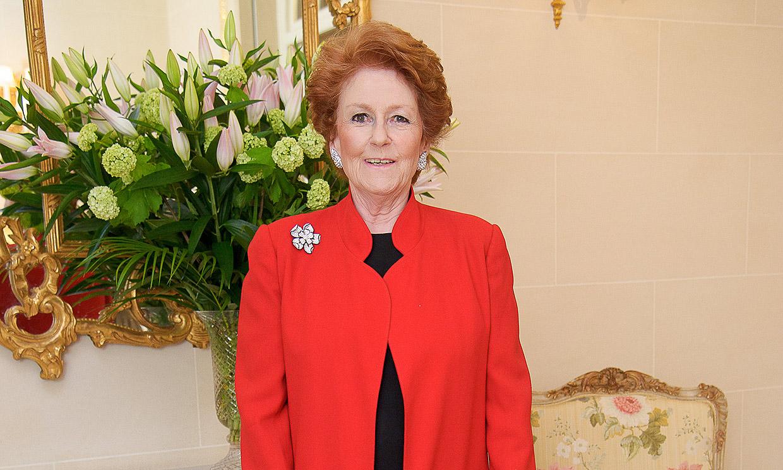 Fallece Lady Elizabeth Anson, la prima de Isabel II que llevaba la batuta en sus fiestas
