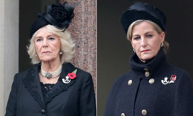 El broche que conecta a las damas de la Familia Real británica