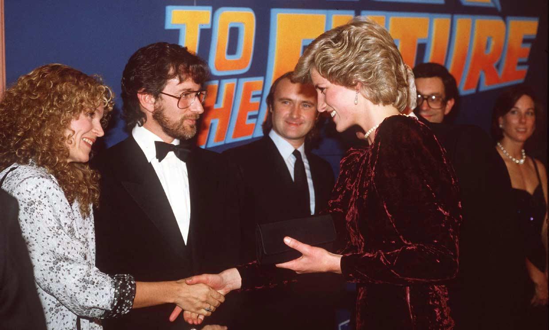 La embarazosa situación que vivió Michael J. Fox con Diana de Gales en el estreno de 'Regreso al futuro'