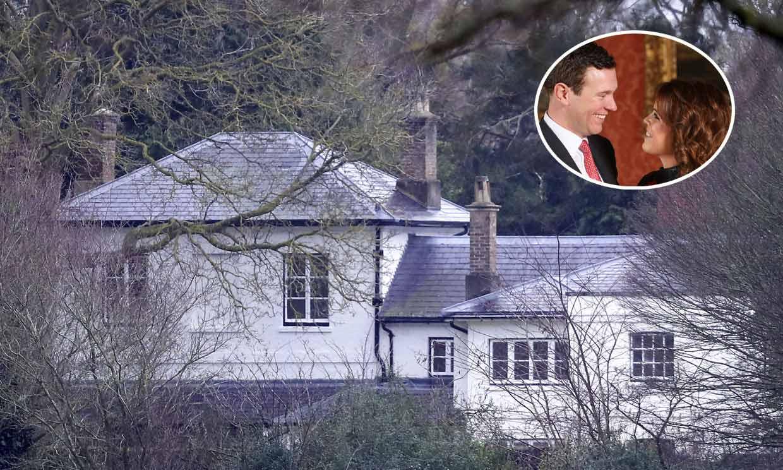 Así es Frogmore Cottage, la casa de los duques de Sussex, donde ya vive Eugenia de York