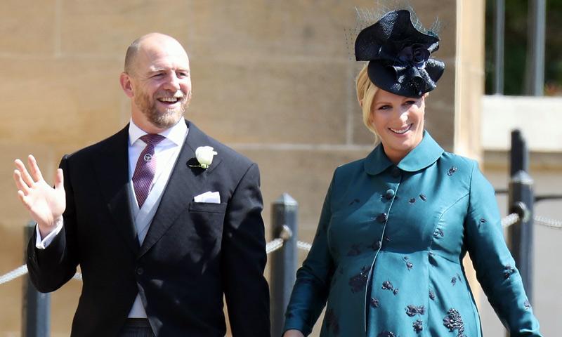 Zara Tindall, nieta de Isabel II, está embarazada de su tercer hijo