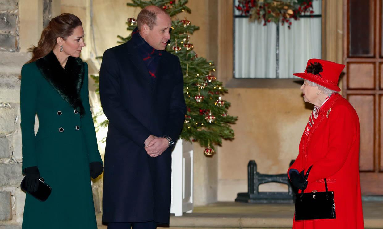 La tierna manera con la que el príncipe Guillermo llama a la reina Isabel II