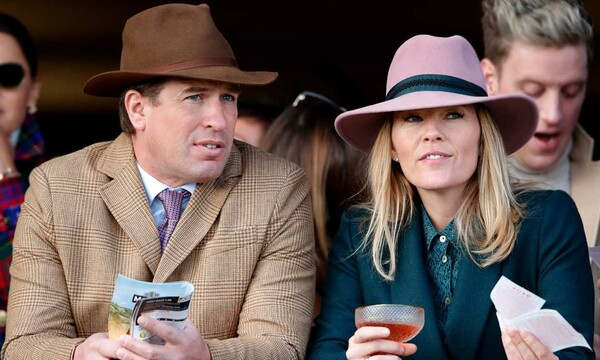 Peter y Autumn Phillips