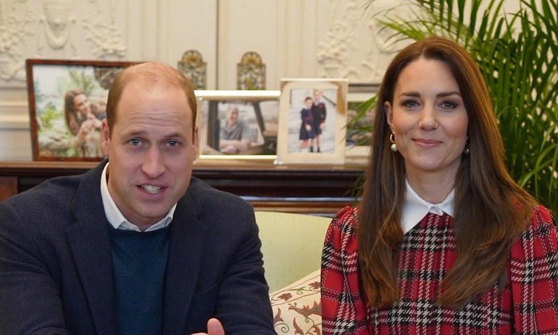Los retratos familiares que ahora adornan las videollamadas de los duques de Cambridge
