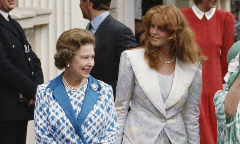 Como un elefante en una cacharrería: la desastrosa entrada de Sarah Ferguson al conocer a Isabel II