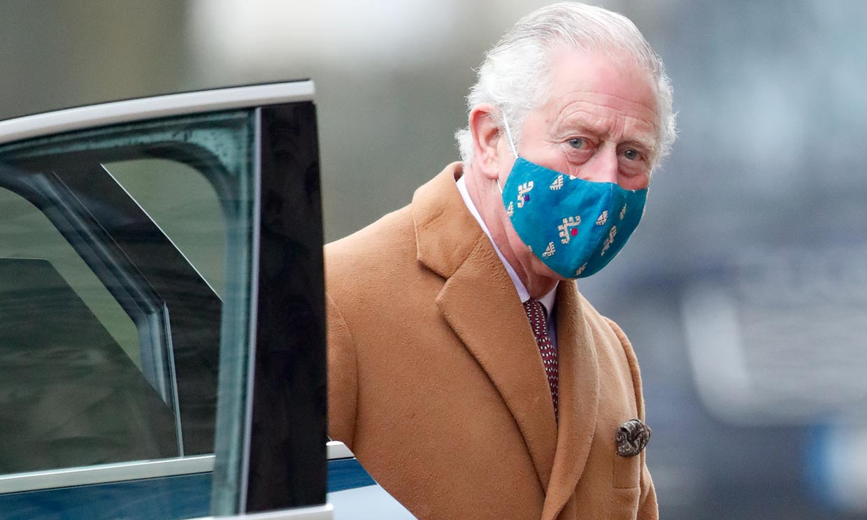 Carlos de Inglaterra visita en el hospital a su padre, Felipe de Edimburgo