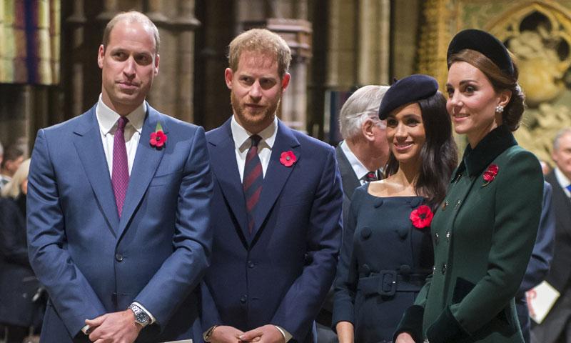 El acercamiento de los príncipes Guillermo y Harry, en entredicho por los últimos movimientos de los Sussex