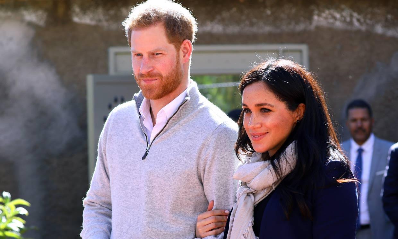 El gesto de Meghan y Harry con el que responden a la última decisión de Isabel II