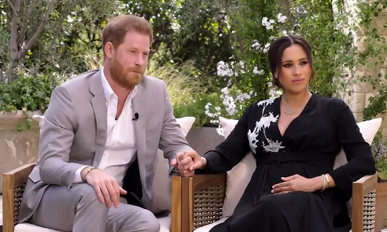 Se emite el primer adelanto de la reveladora conversación de Harry y Meghan con Oprah Winfrey