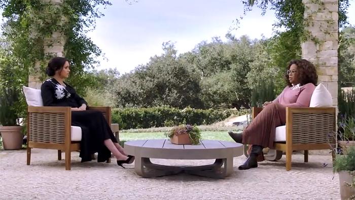 Se emite el segundo adelanto de la entrevista de Harry y Meghan