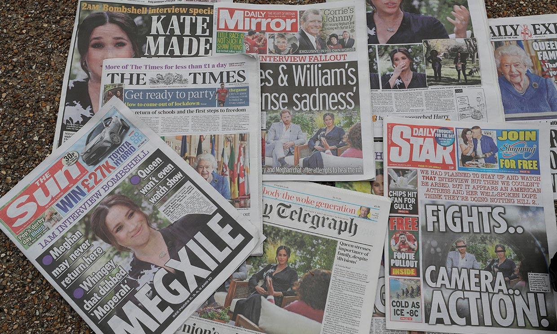 La entrevista de Harry y Meghan, un tsunami en Reino Unido