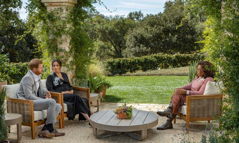 Ni en casa de Harry y Meghan ni en la de Oprah… ¿Dónde se grabó la explosiva entrevista?