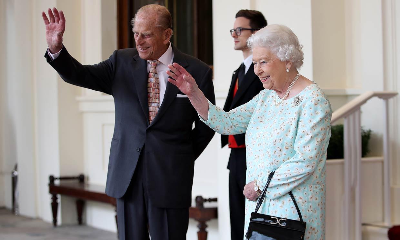 El mensaje de la reina Isabel II al hospital que cuidó a su marido Felipe de Edimburgo