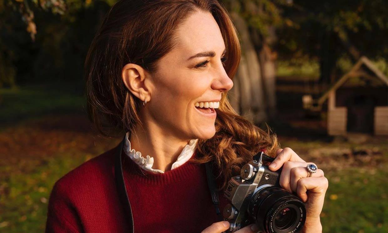 Kate Middleton presenta un libro de retratos: recordamos algunas de sus fotografías más personales