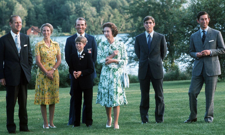 La familia numerosa que Felipe de Edimburgo formó con la reina Isabel