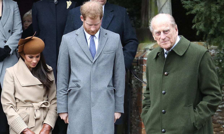 'Gracias por tu servicio': los Duques de Sussex se despiden de Felipe de Edimburgo