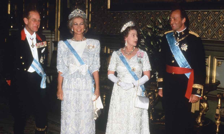 El duque de Edimburgo y sus lazos familiares con España