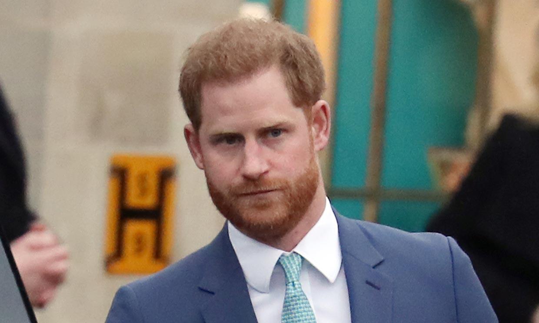 El príncipe Harry ya está en Londres para pasar la cuarentena antes de asistir al funeral de su abuelo