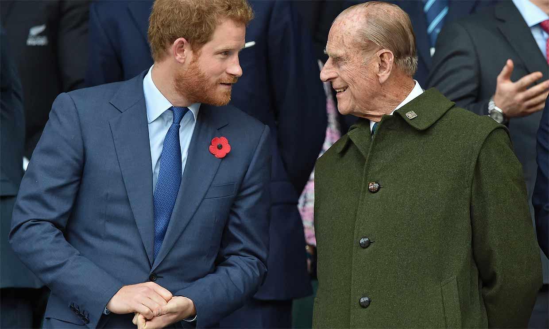 El entrañable y original tributo del príncipe Harry a su abuelo: 'Meghan, Archie y yo te tendremos siempre en nuestro corazón'