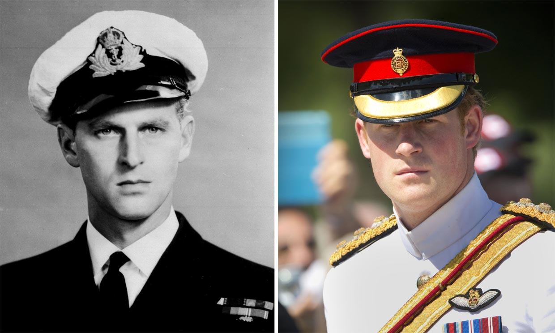 El príncipe Harry, la viva imagen de su abuelo