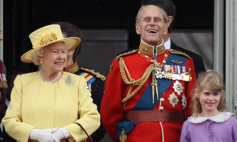 La curiosa afición que el duque de Edimburgo compartía con su nieta, Lady Louise Windsor