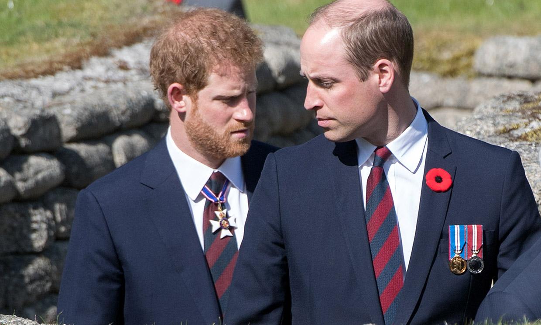 Los príncipes Guillermo y Harry no estarán juntos en el funeral de su abuelo