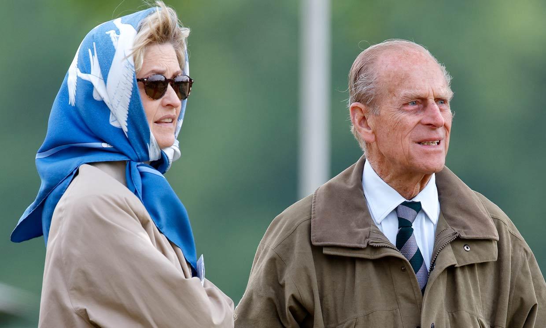 La condesa Mountbatten de Birmania, la amiga del Duque de Edimburgo que asistirá al funeral