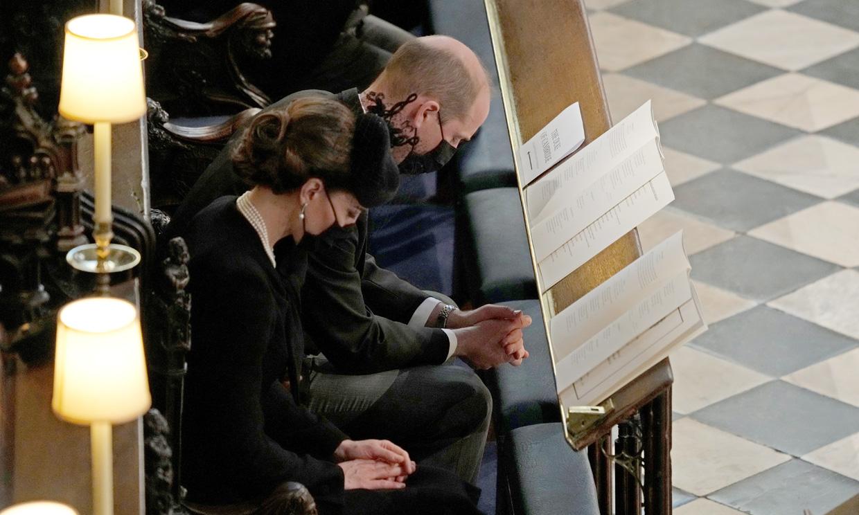 Los treinta familiares que han asistido al funeral del duque de Edimburgo