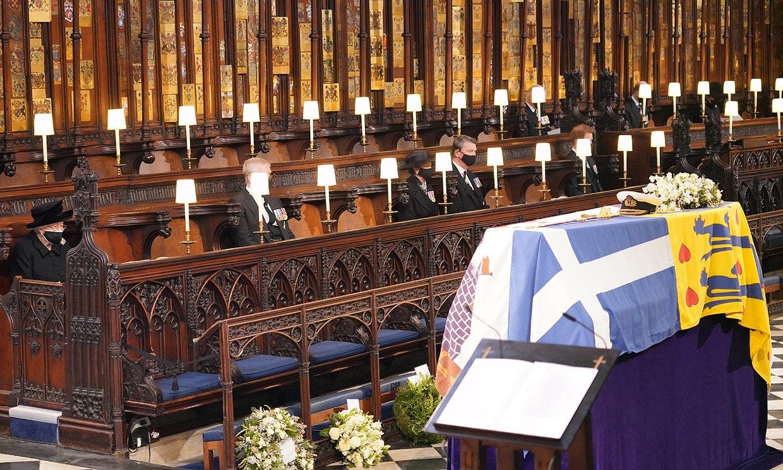 Solemne, emotiva y de acuerdo a sus deseos, así ha sido la ceremonia religiosa para despedir al duque de Edimburgo