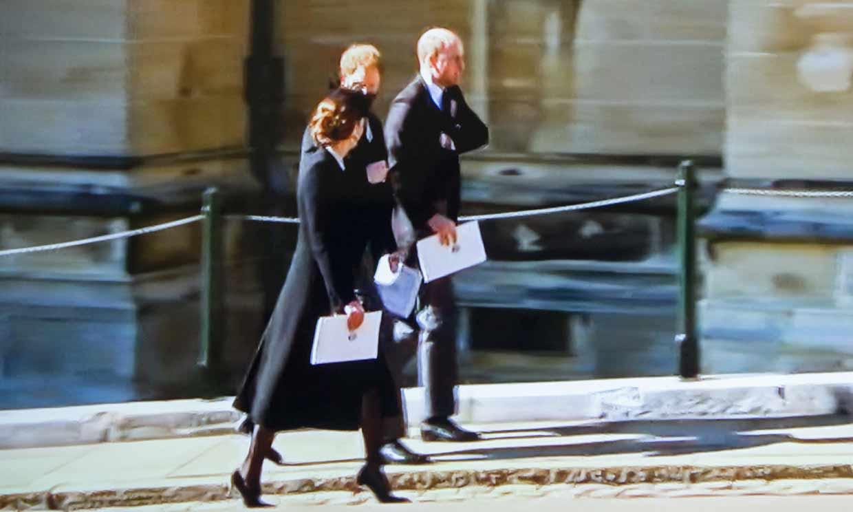 ¿Es esta la imagen de la reconciliación de los príncipes Guillermo y Harry?