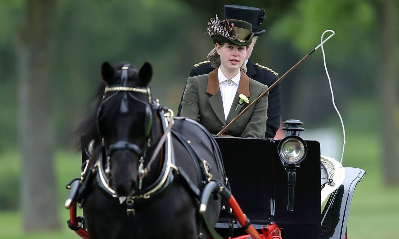 El duque de Edimburgo y Lady Louise Windsor, unidos por una pasión y, ahora, por un legado
