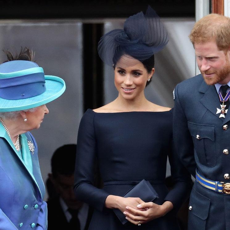 El detalle del príncipe Harry y Meghan Markle con Isabel II por su cumpleaños
