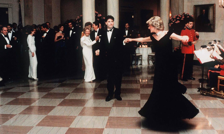 Nancy Reagan fue quien animó a John Travolta a bailar con Diana de Gales