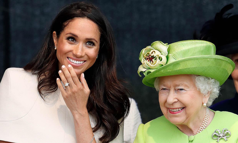 Meghan Markle suplió su ausencia en el funeral del duque de Edimburgo con una llamada a Isabel II antes de la ceremonia