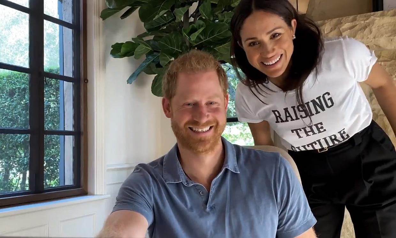 Archie y Meghan hacen una aparición sorpresa en el nuevo documental del príncipe Harry