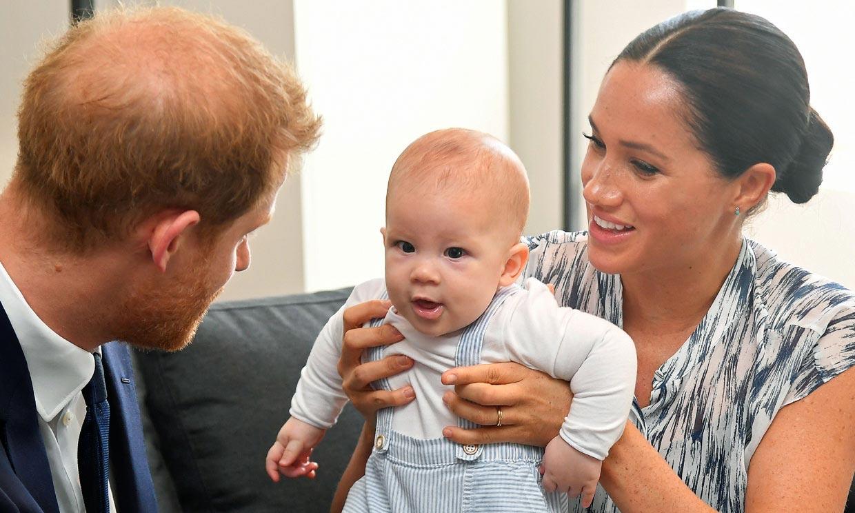 La foto que demuestra que Archie es la viva imagen de su madre, Meghan Markle