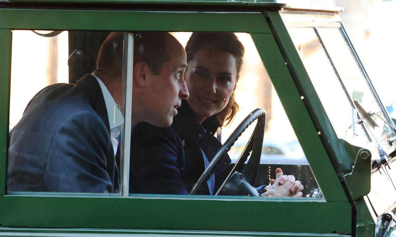 El coche que enamoró al Duque de Edimburgo, elegido por Guillermo y Kate para su último plan